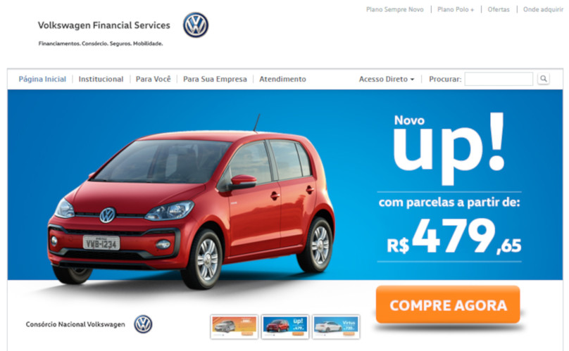Telefone Banco Volkswagen - SAC, 0800, Ouvidoria