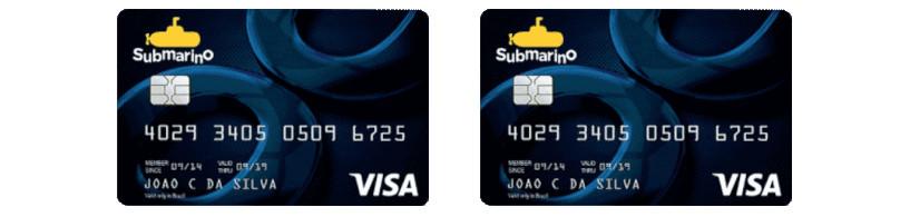 Telefone Cartão Submarino